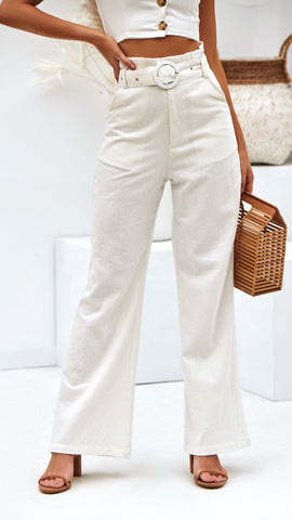 Helena Pants - Off White