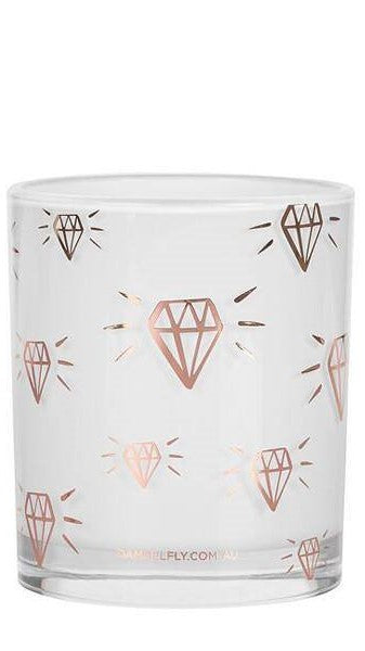 Diamond Print Candle
