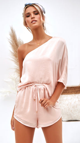Lewis Top and Short Set - Blush