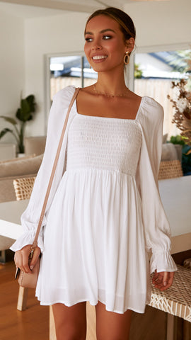 Cali Dress - White