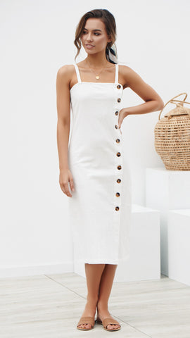 Kara Dress - White