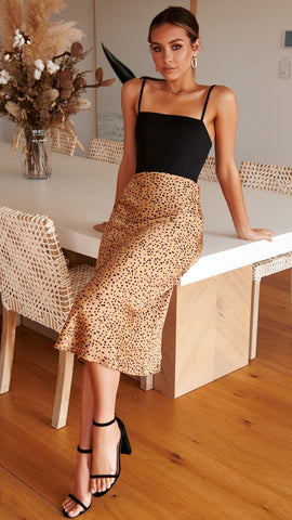 In the Wild Skirt - Rust Pebble