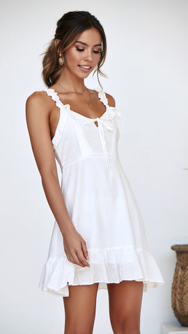 Midday Dress - White