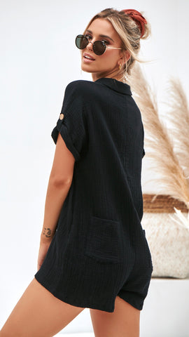 Raw Playsuit - Black