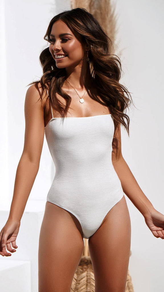 Pepper Bodysuit - White