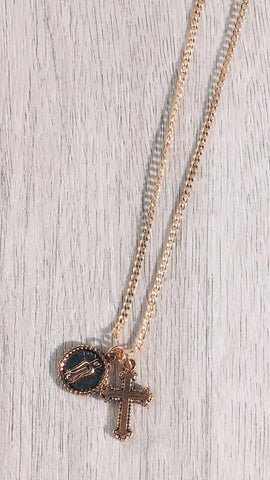 Have Faith Necklace - Gold