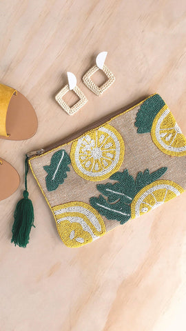 Lemon Lover Clutch