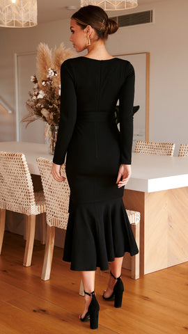 Before Dawn Dress - Black