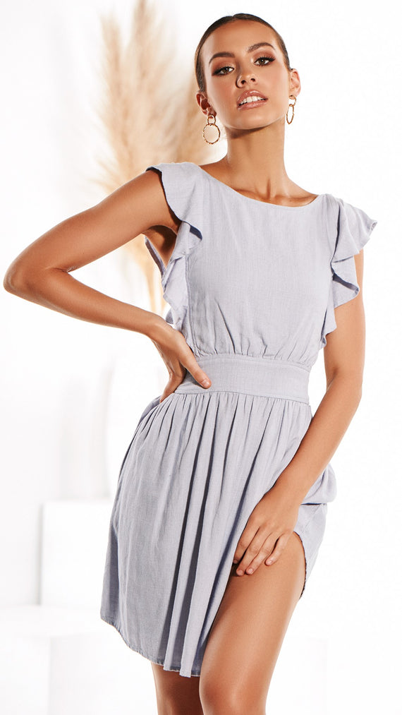 This Feeling Dress - Sky Blue