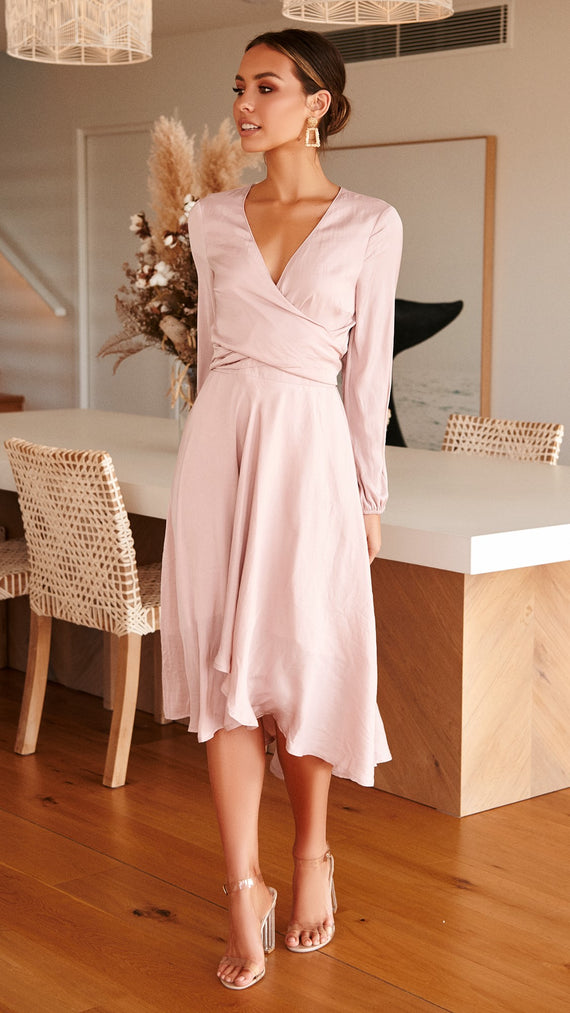 Starry Nights Dress - Blush