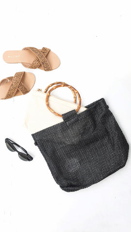 Kahlua Tote Bag - Black