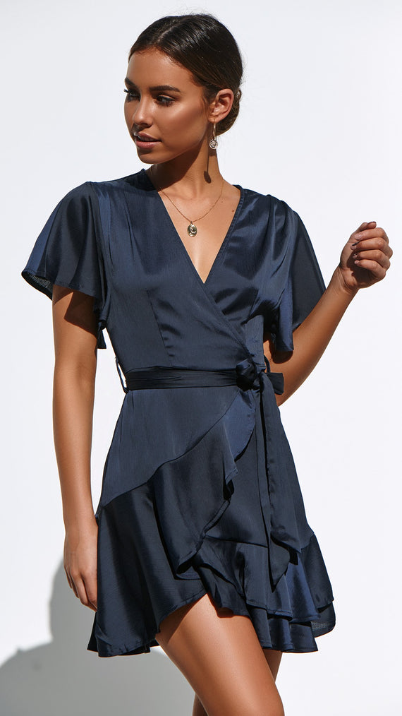 Arlington Dress  - Navy