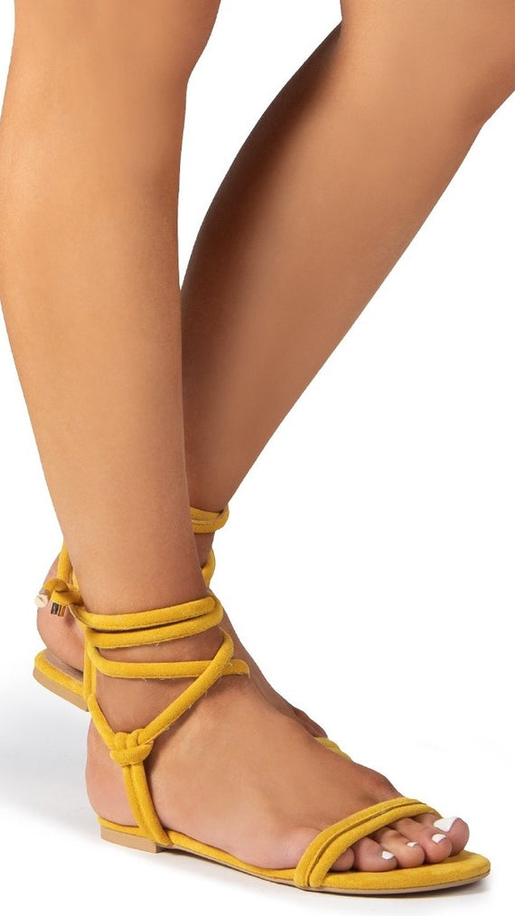 Daytona Sandal - Yellow Suede