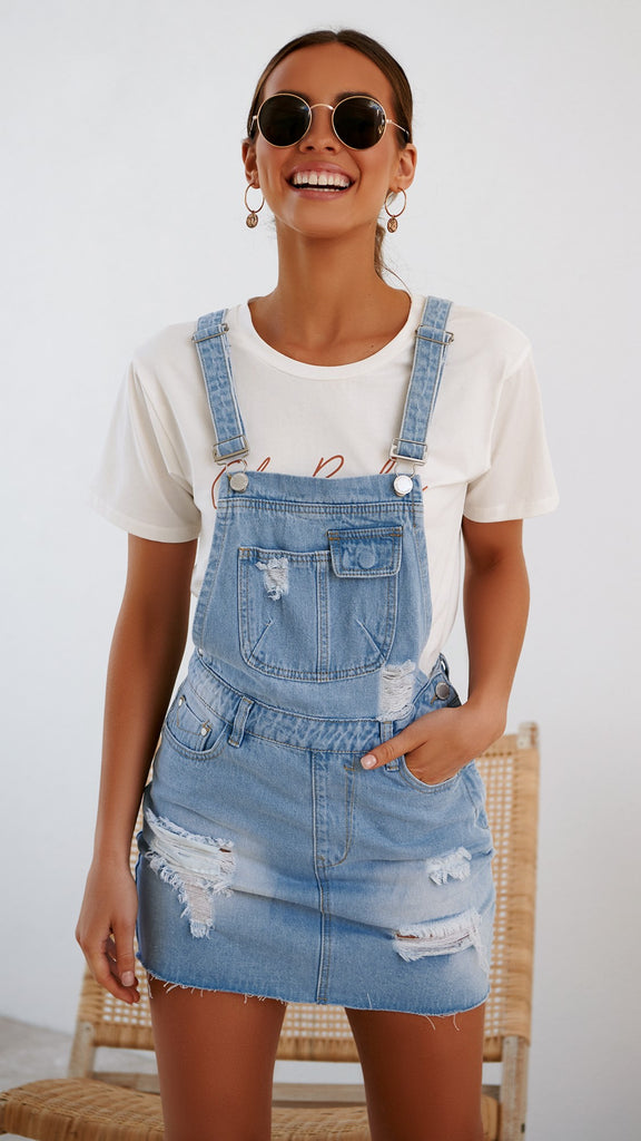 Tahoe Pinafore Dress