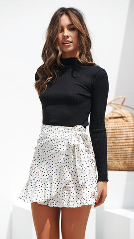 Better Days Skirt - White