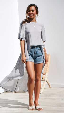 MATISSE TOP - Grey