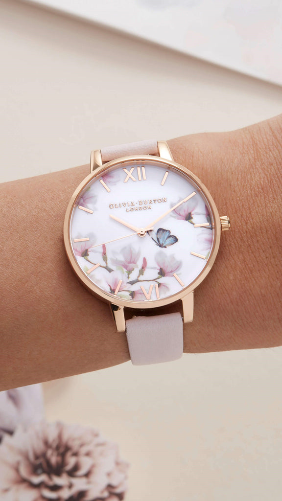Pretty Blossom Watch - Rose Gold
