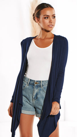Melbourne Cardigan - Navy