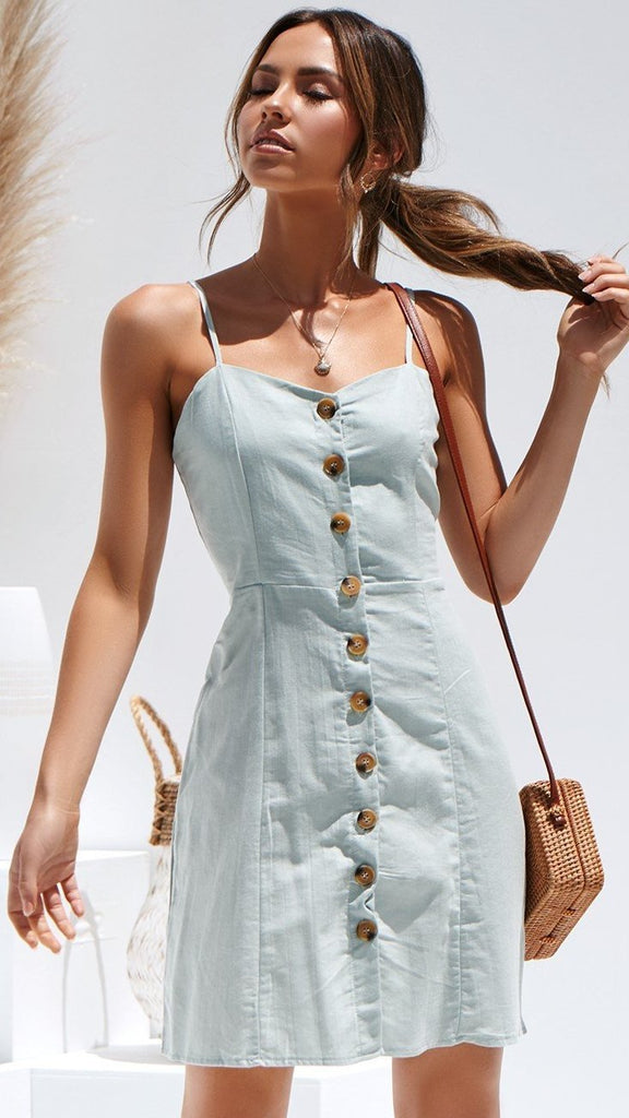 On A Cloud Dress - Sage