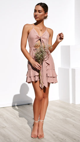 Free Soul Dress - Dusty Pink