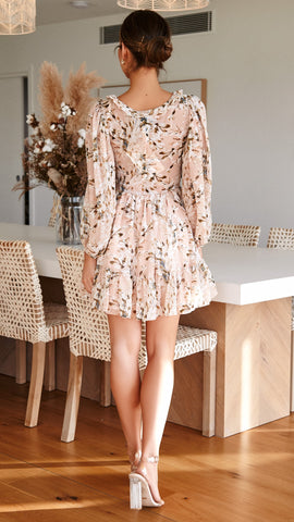 Honour Dress - Nude Floral