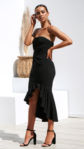 Audrina Dress - Black