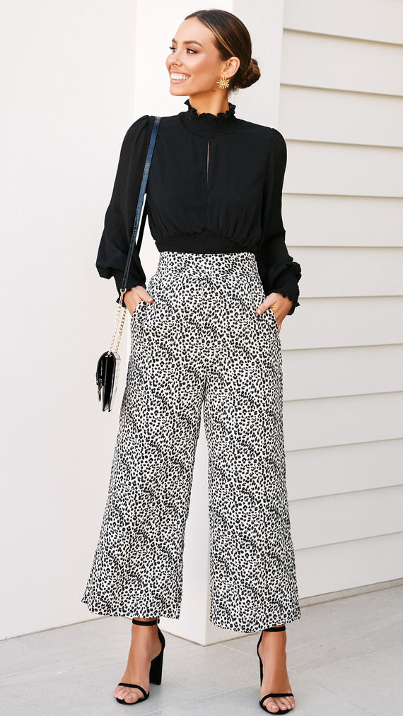 Clumsy Love Culottes