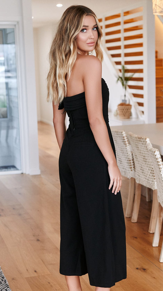 Corrie Jumpsuit - Black