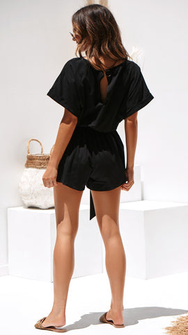 Marlow Playsuit - Black