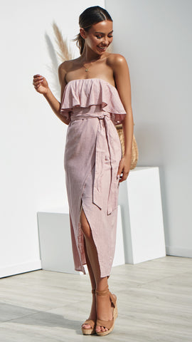 Julieta Dress - Blush