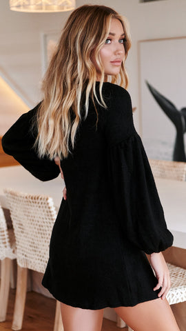 Sterling Knit Dress - Black