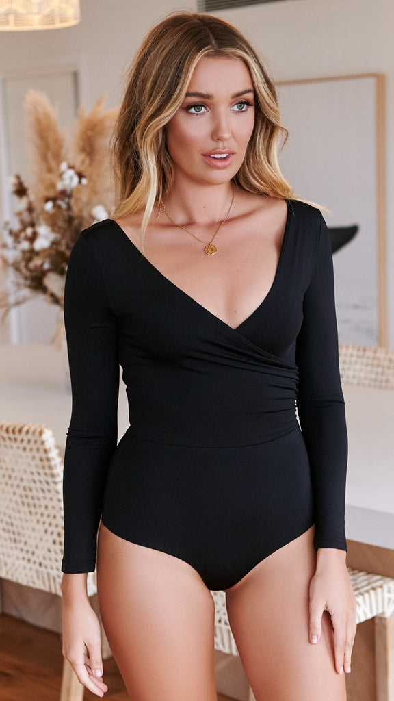 On the Level Bodysuit - Black