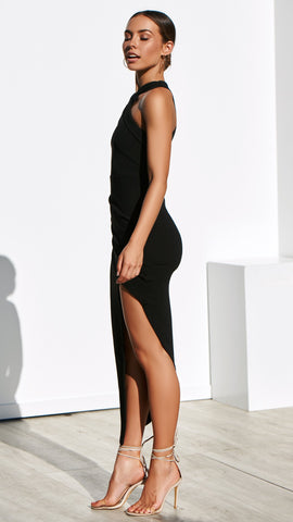 In the Moment Dress - Black