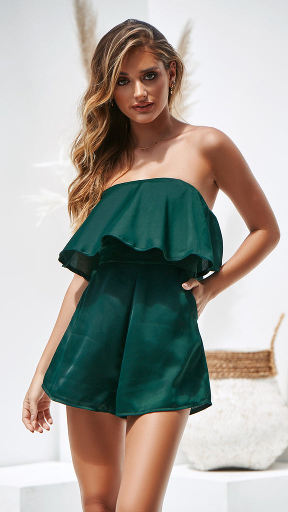 Lucy Playsuit - Emerald