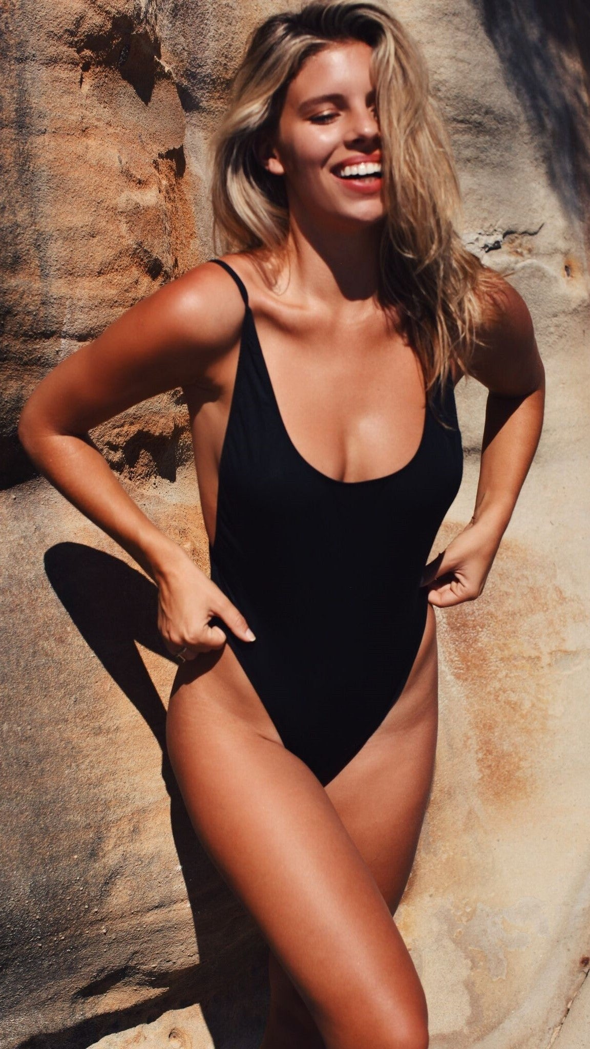 Bo Derek One Piece - Black