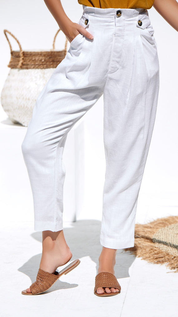 Willow Pants - White