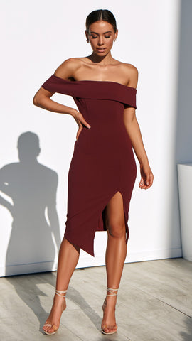 Koko Dress - Wine