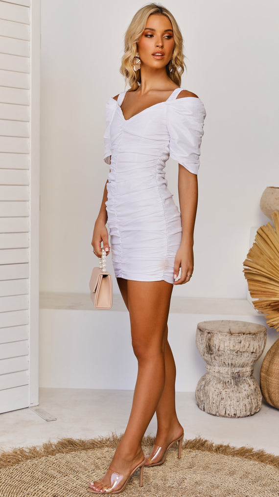 Rouge Dress - White
