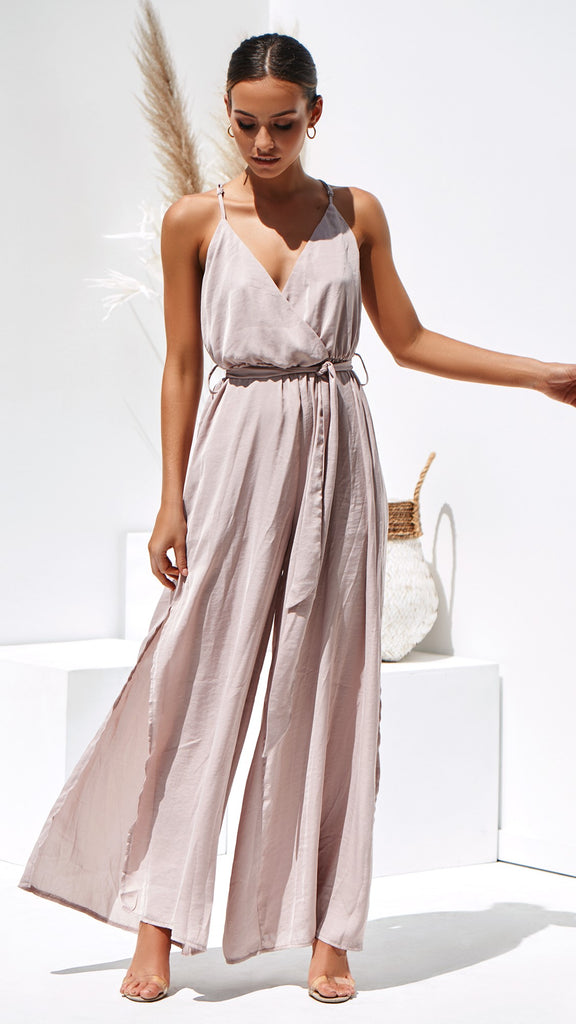 Estelle Jumpsuit - blush
