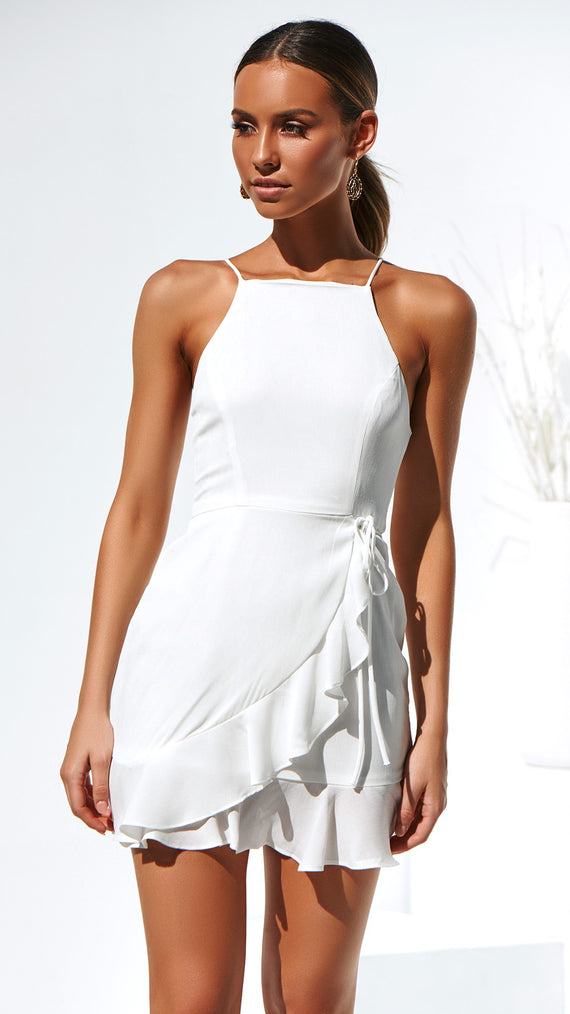 Clyde Dress - White