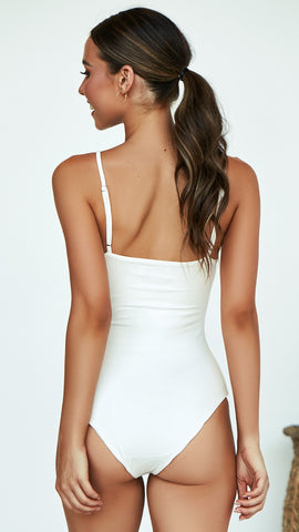 Amos Bodysuit - White