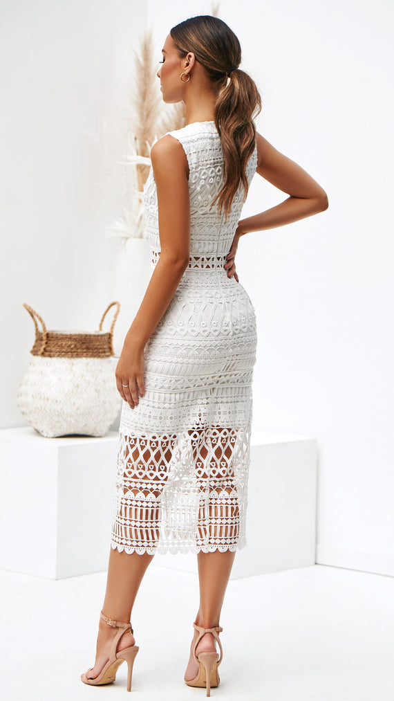 Scarlette Dress - White