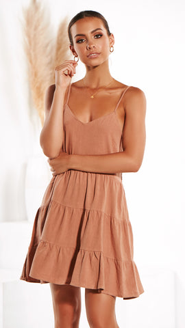 Last Summer Dress - Terracotta
