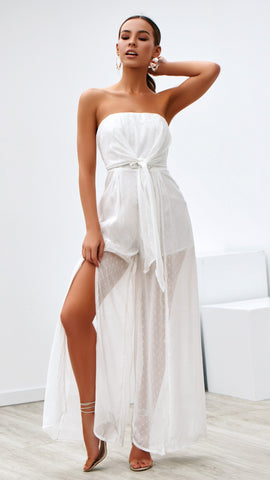 Emmy Jumpsuit - White