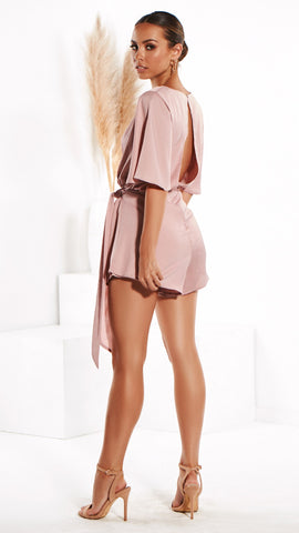 Chanel Playsuit - Blush