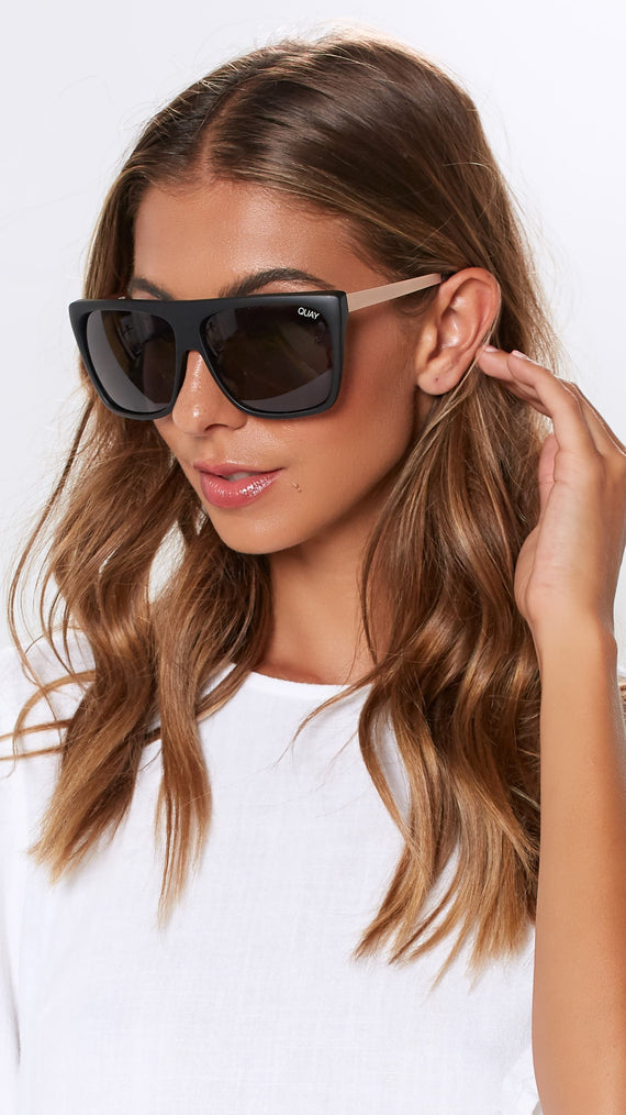 QUAY SUNGLASSES - OTL II - BLACK/SMOKE