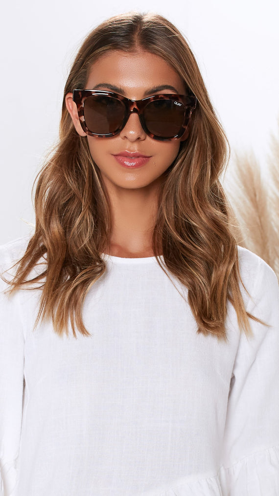 Quay - After Hours - Sunglasses - Tort/Brown