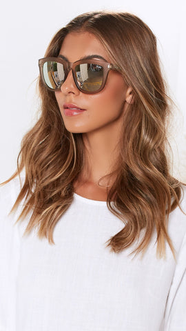 Quay - Zeus - Sunglasses - Gold