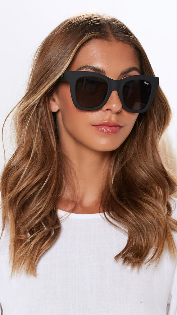 Quay - After Hours - Sunglasses - Black/Smoke
