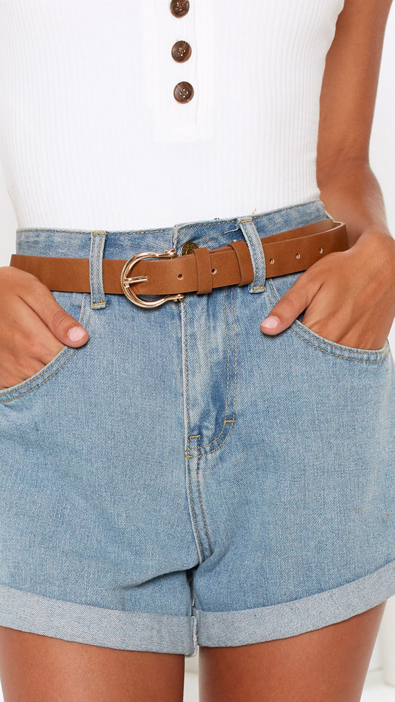 Kesha Belt - Tan